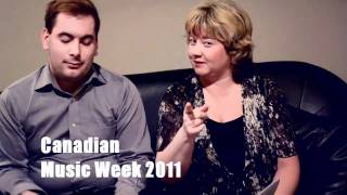 Canadian Music Week 2011 - Linda Randall - The Idea Girl - Ryan Swayze