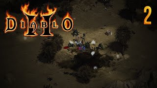 Zagrajmy w Diablo II:Lord of Destruction (Barbarzyńca) #2 - Toporki. :)