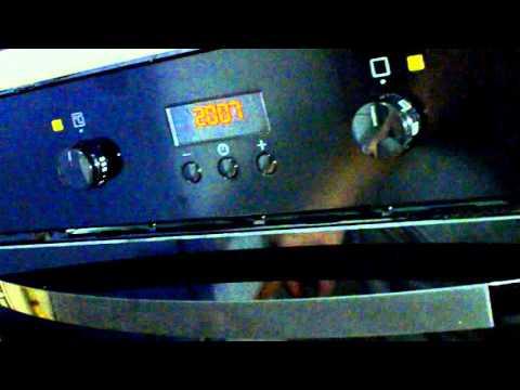 Как пользоваться духовкой занусси видео