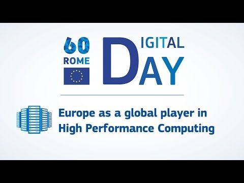 Digital Day: Europe as a global player in High Performance Computing