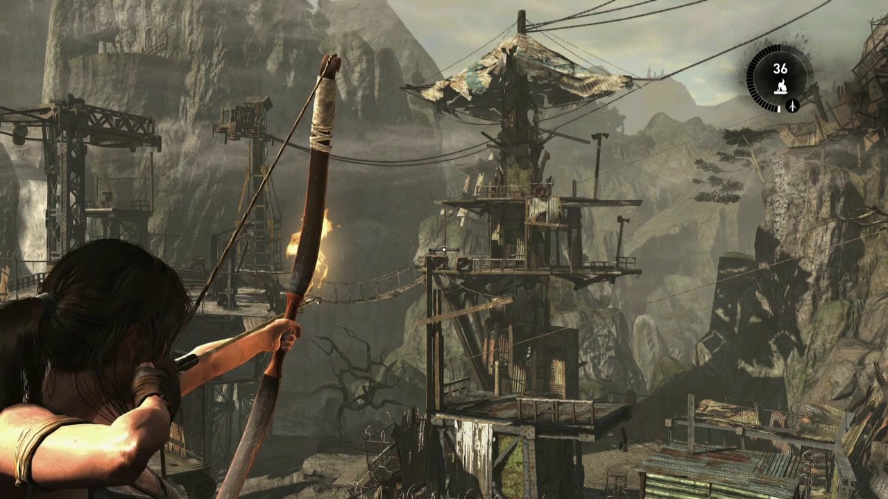 Tomb Raider Definitive Edition Ps4 Gameplay Part 6 Youtube