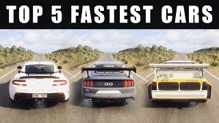 DiRT Rally 2.0 - Top 5 Fastest Cars