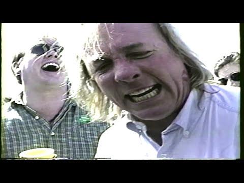 Jackie the Jokeman and Bobabooy at the St Patricks Parade Dallas 1995