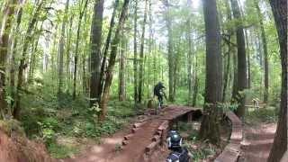 Blackrock Falls City Oregon Training Ground GoPro Hero 2 Freeride Downhill