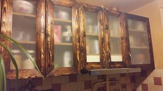 Фасады для кухни (дверцы для шкафчиков) своими руками.