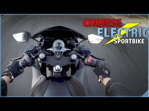 CHINESE ELECTRIC SPORTBIKE   First Ride on USA soil