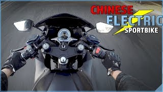 CHINESE ELECTRIC SPORTBIKE | First Ride on USA soil