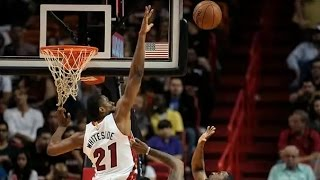 Hassan whiteside top 10 blocks 2014 2015 season