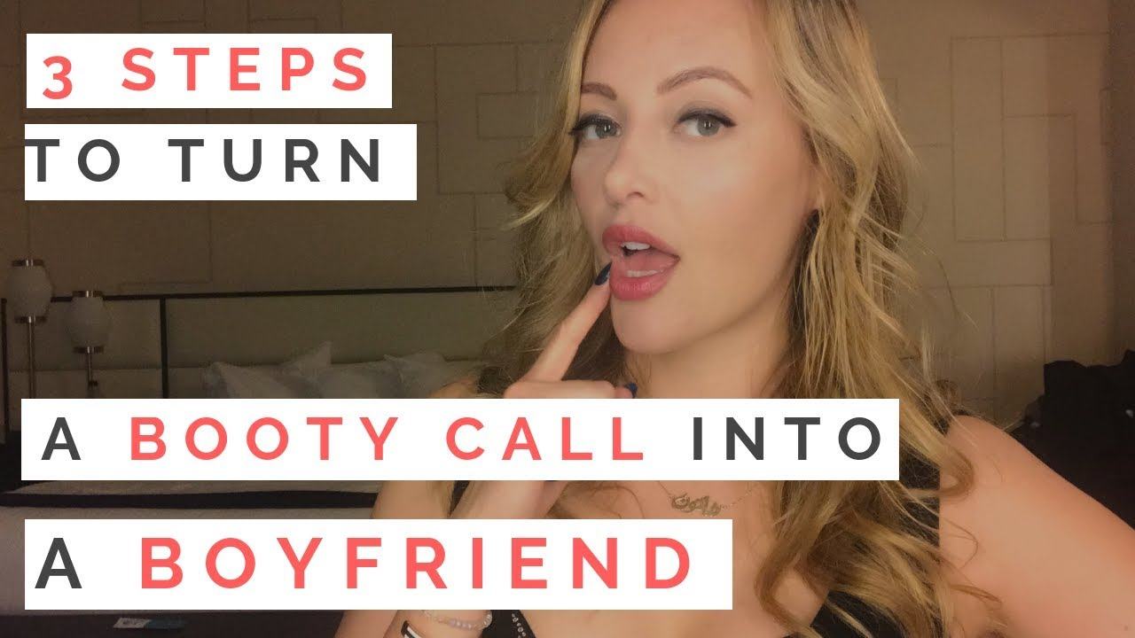 how to turn a hookup into a boyfriend