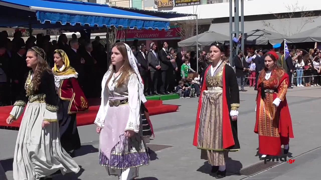 Παρέλαση 25η Μαρτίου Τρίπολη
