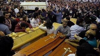 В Танте хоронят погибших христиан