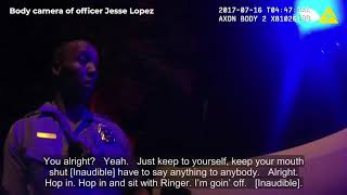 Minneapolis Police Department bodycam footage shows scene of Justine Ruszczyk fatal shooting