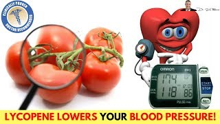 🍅 Lycopene Extract Can Lower Your Blood Pressure (-10/-4 mmHg) - CLINICAL STUDY!