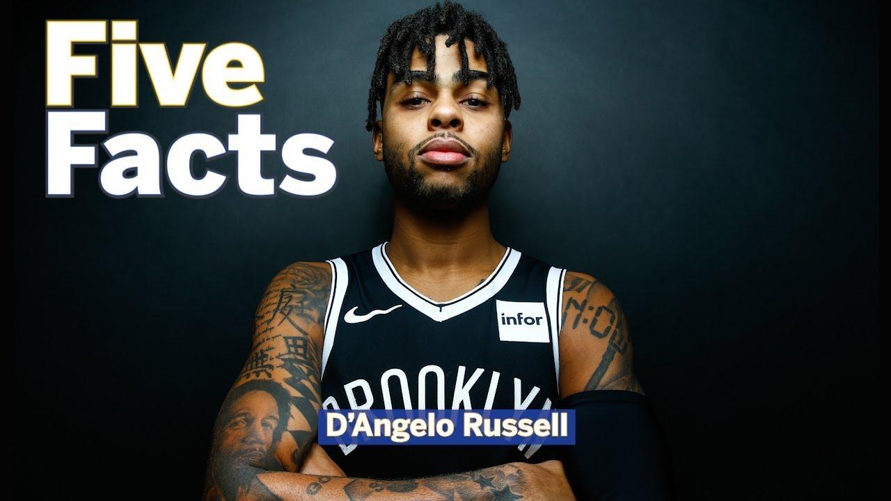 5 Facts Warriors Guard Dangelo Russell