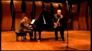 Rhian Samuel. IN SITU. Mvt 1 'Uneven Ground' tenor sax & piano