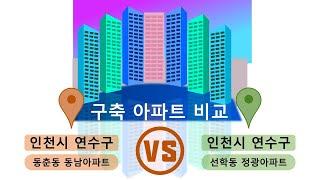 가성비 좋은 구축 아파트 비교(인천시 연수구) 동춘동 …