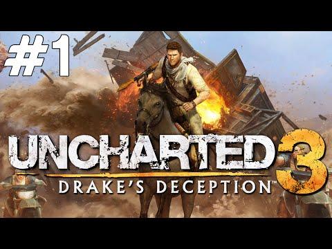 Uncharted 3 Drake's Deception - HARİKA OYUN - Bölüm 1