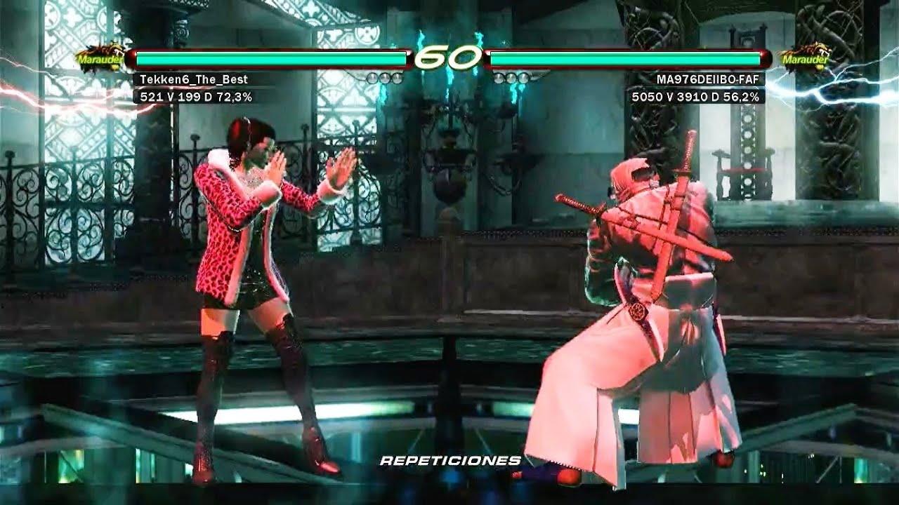 03 Anna Will Tekken6 The Best Vs Raven Tekken 6 Uchiha X24 Gameplay Online Ps3 Youtube