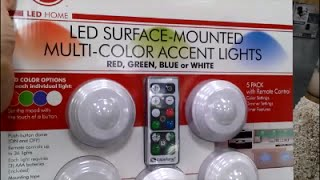 Hoover Multi Color LED Accent Lights with Remote Control