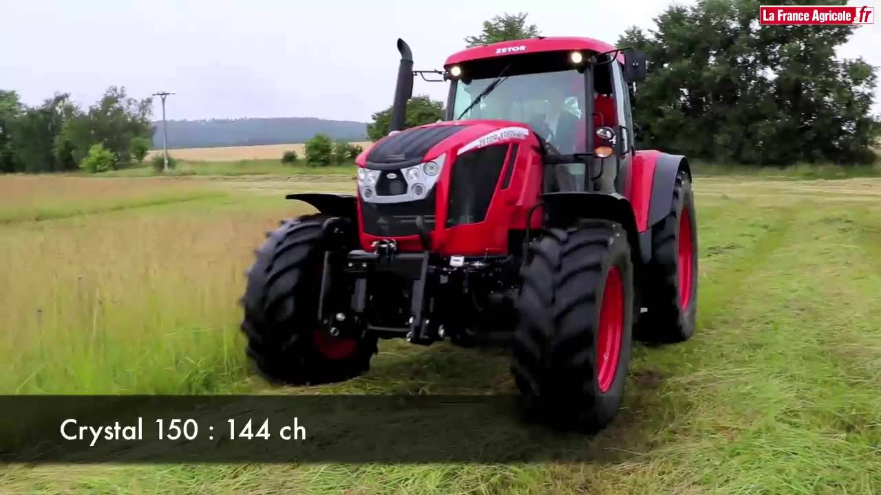tracteur zetor revient sur le march du six cylindres youtube. Black Bedroom Furniture Sets. Home Design Ideas