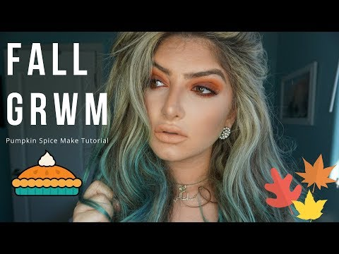 FALL GET READY WITH ME! PUMPKIN SPICE TUTORIAL