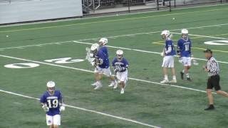 Acton Boxborough Boys Varsity Lacrosse at Marshfield 4/11/17