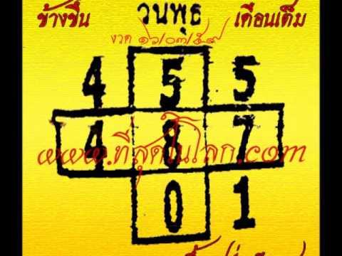 เลขเด็ดงวด 16 มีนาคม 59 หวยเด็ดงวด 16/03/59
