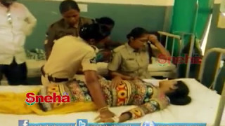 CI Police Harassed  Lady Constable - Kuppam |  Sneha TV