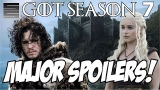 Game of Thrones Season 7 Predictions Latest Filming Leaks (Major Spoilers!)