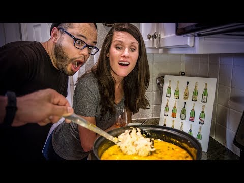 How to make White Chicken Chili Recipe with Emily Mercedes Art