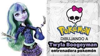 Dibujando a Twyla Boogeyman entrenadora pokemon
