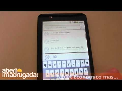 ZTE V9 Android Tablet