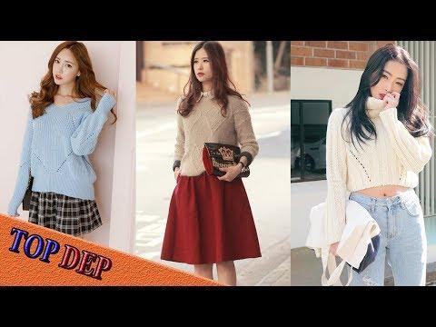 Áo Len Nữ Và Cách Phối đồ Với áo Len đẹp Nhất