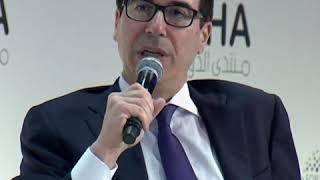 姆努钦:对华贸易协议有利于全球经济增长