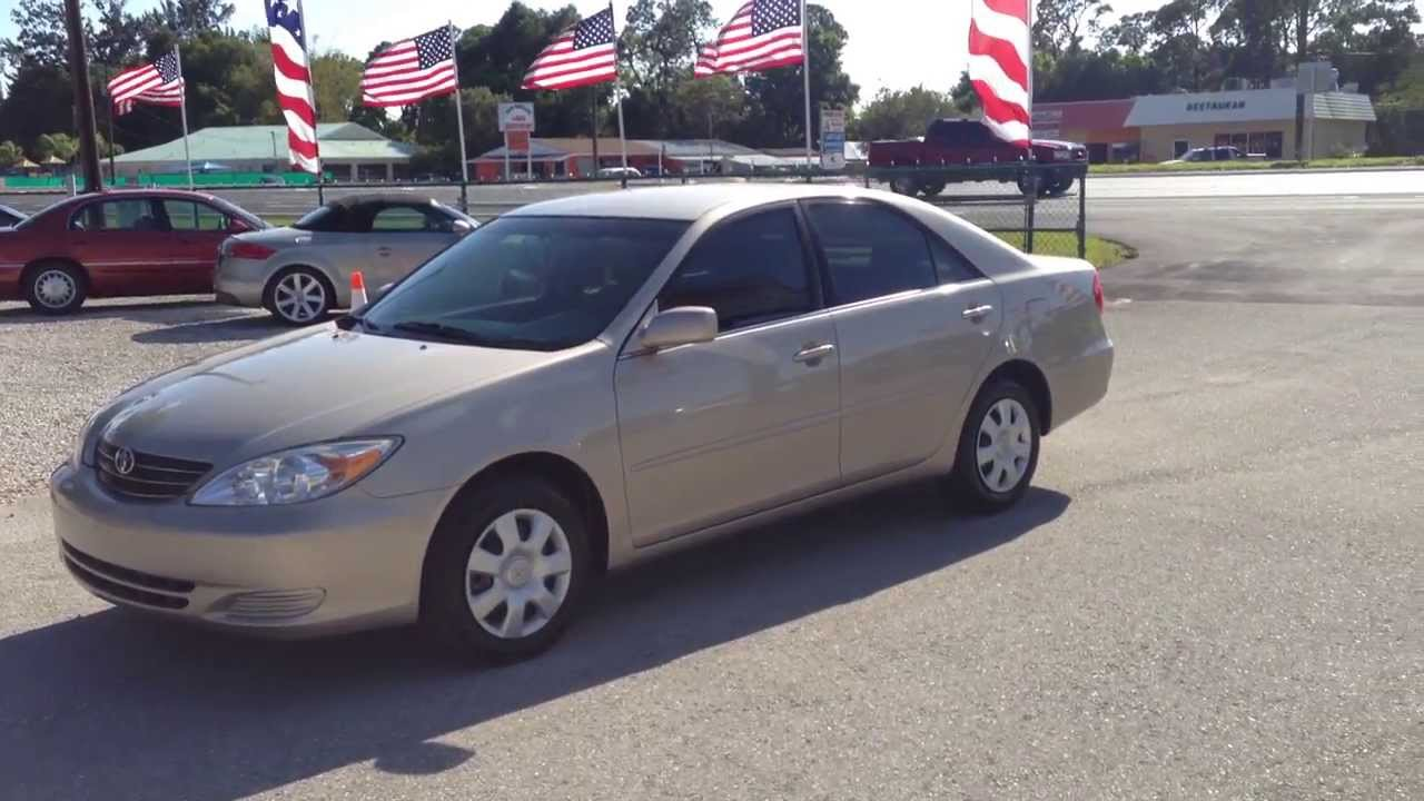 2004 Toyota Camry LE   View Our Current Inventory At FortMyersWA.com