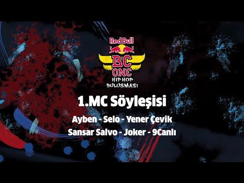 Ayben, Selo, Yener Çevik, Sansar Salvo, Joker, 9Canlı @ Red Bull BC One 1. MC Söyleşisi