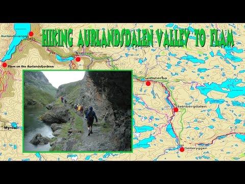 Hiking Aurlandsdalen Valley to Flam