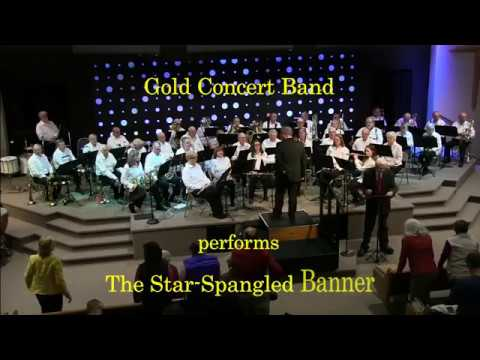 The Star Spangled Banner - Gold Band 2018 Fall Concert