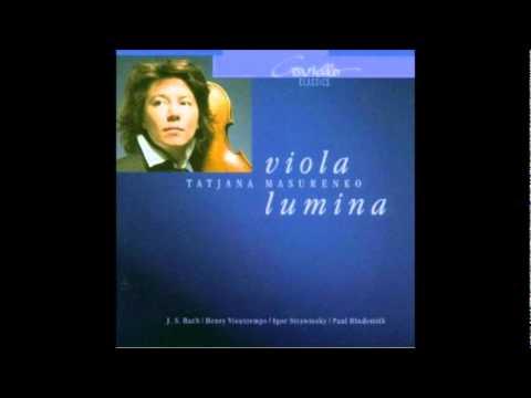 H. Vieuxtemps Capriccio pour alto seule, op. 61 Tatjana Masurenko - Viola