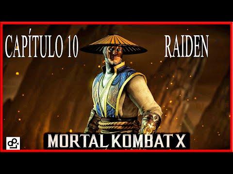 """Mortal Kombat X - CAPÍTULO 10 """"RAIDEN"""" (en Español) 1080p 60fps PC ULTRA thumbnail"""