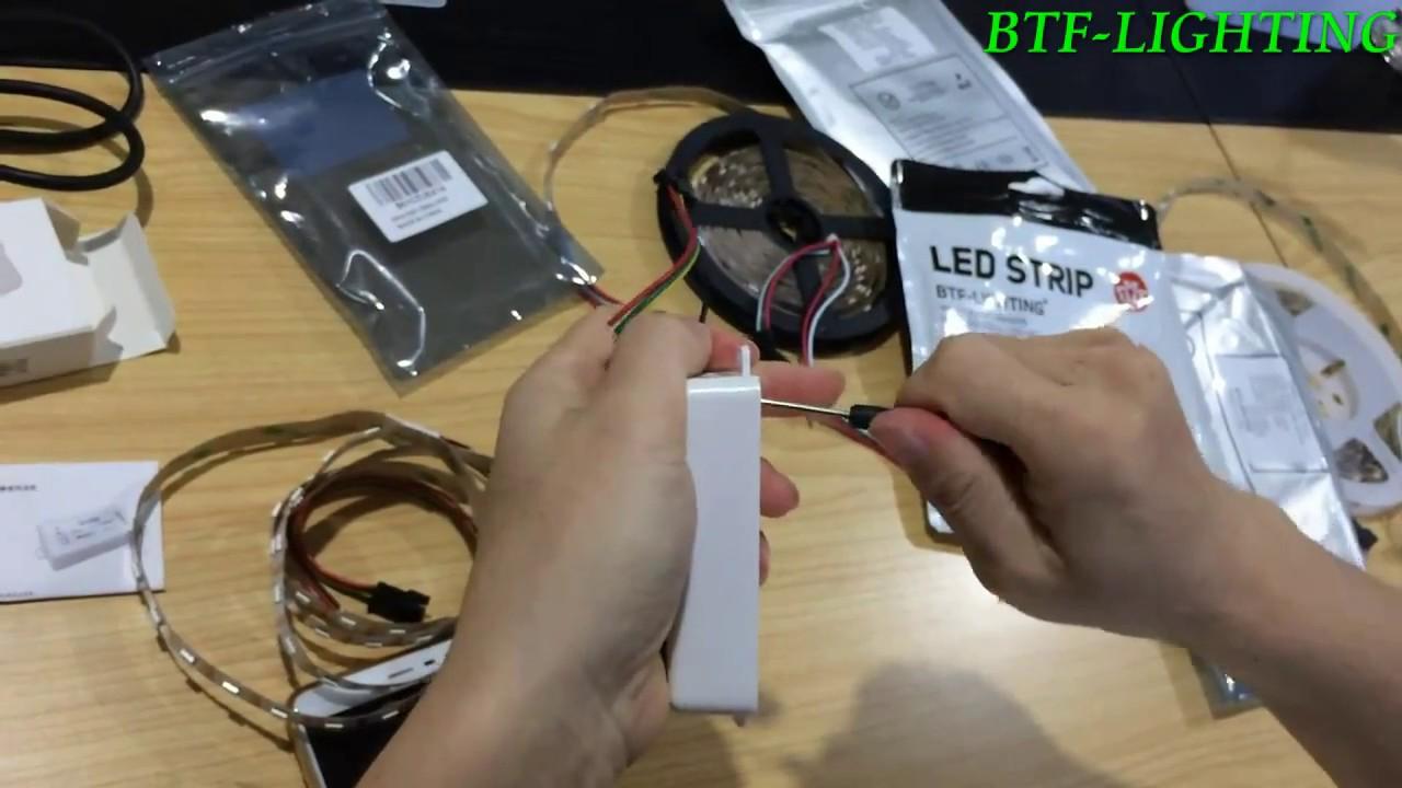 Btf Lighting Sp105e Bluetooth Magic Controller Installation Video Dream Color Led Wiring Diagram