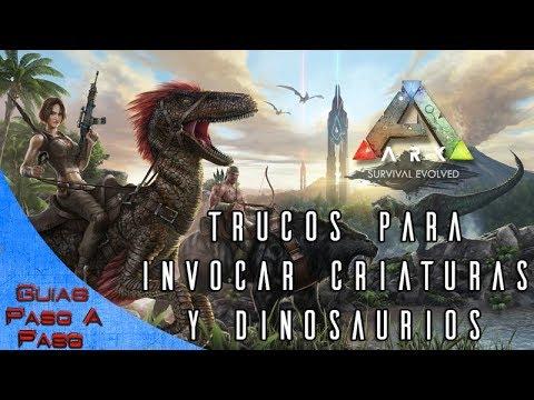 Ark: Survival Evolved   Trucos de invocación