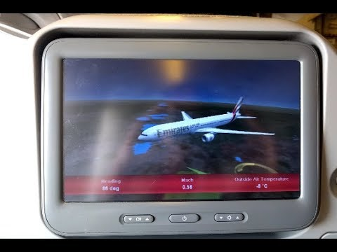 Addis Ababa (ADD) to Dubai (DXB) | Emirates EK724 | Economy