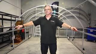 How To Set Up & Install The SlipSki Boat Garage
