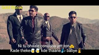 Gambar cover jatt de tikane balliye.. rab v na jaane balliye || Youngsters return || Whatsapp story video