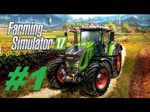 Farming Simulator 17 #1 playstation 4 découverte et début d'une très longue série !
