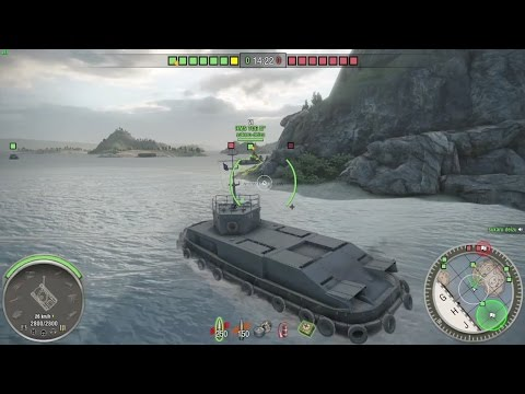 April 1 Special event TOG battles Tanks in the Sea World of Tanks PS4