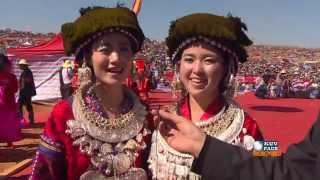 HMONGWORLD: Hluas Nkauj Hmoob Suav Teb, Kim Tsawb, Interviewed During Hmong Int'l Hauvtoj Fest