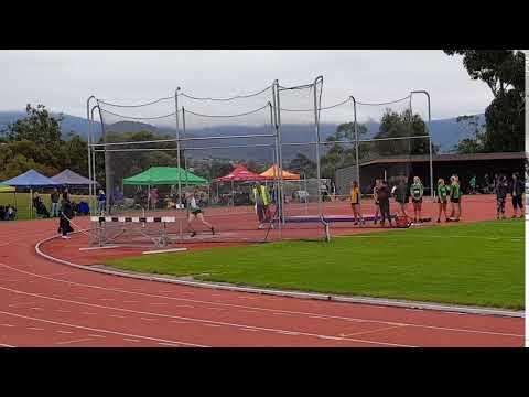 Little Athletics Tasmania U15g Discus Record 32.72m 20190309