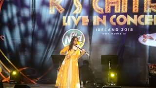 Amazing Violin Performance by Roopa Revathi I K S Chithra Concert